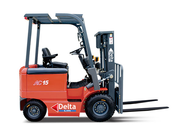 DeltaLift 1-1.5t Narrow Body Electric Counterbalanced Forklift Trucks