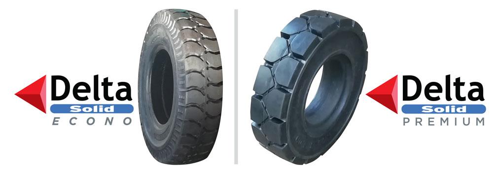 Delta Solid Tyres